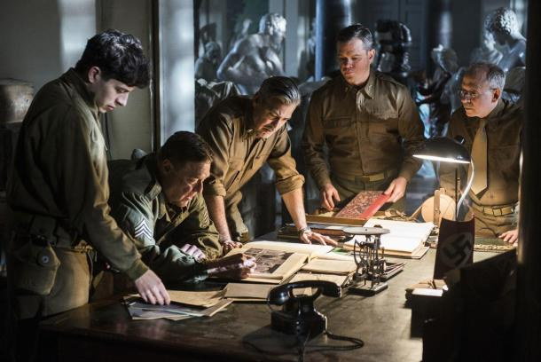 George Clooney leads 'The Monuments Men' into theaters this week.