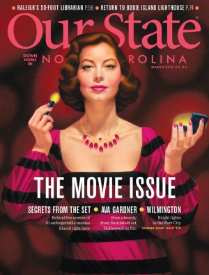 Our State Magazine - March 2014 Movie Issue Cover