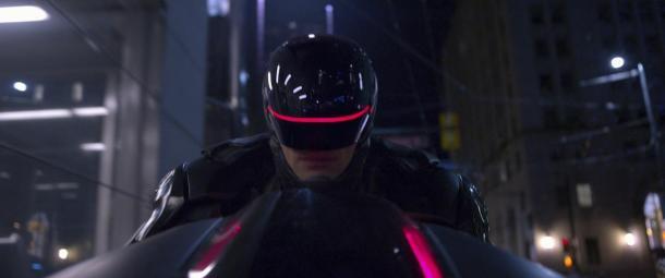 Joel Kinnaman is the newly upgraded 'Robocop'.