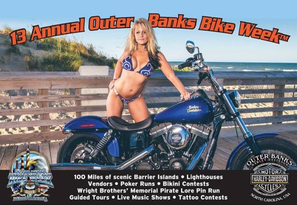 Outer Banks Bike Week 2015
