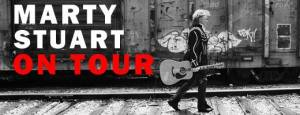 Marty Stuart will be live in concert at Waterside Theatre on Roanoke Island on August 17.