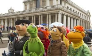 The Muppets are 'Most Wanted' in theaters this week.