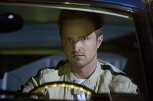 Aaron Paul feels the 'Need for Speed'.