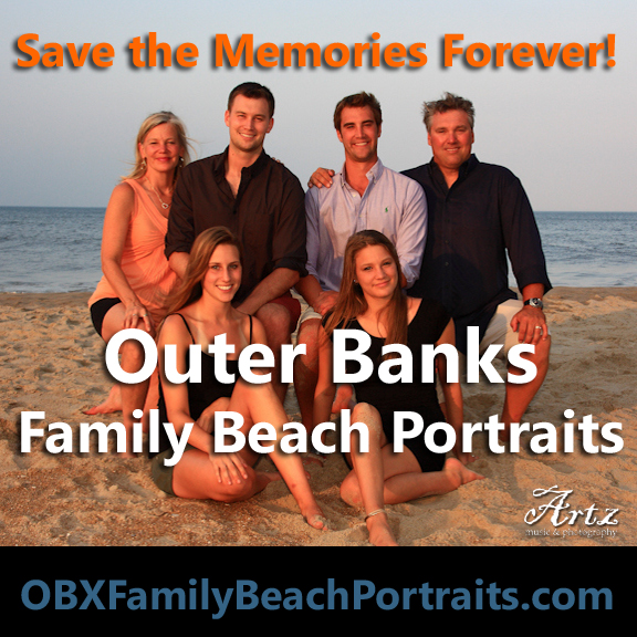 Click Here to Book Your OBX Family Beach Portraits!