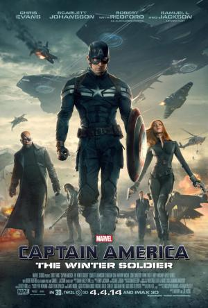 'Captain America: The Winter Soldier' movie poster