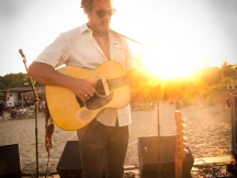 Donavon Frankenreiter returns to Kelly's in Nags Head on Monday, August 18, 2014.