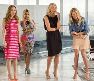 Leslie Mann, Nicki Minaj, Cameron Diaz, and Kate Upton star in 'The Other Woman'.
