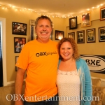 Butch Stone and Sue Artz on the set of OBX Entertainment's web series 'OBXE TV' on April 30, 2014.