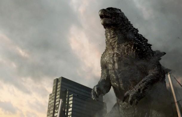 'Godzilla' rises.