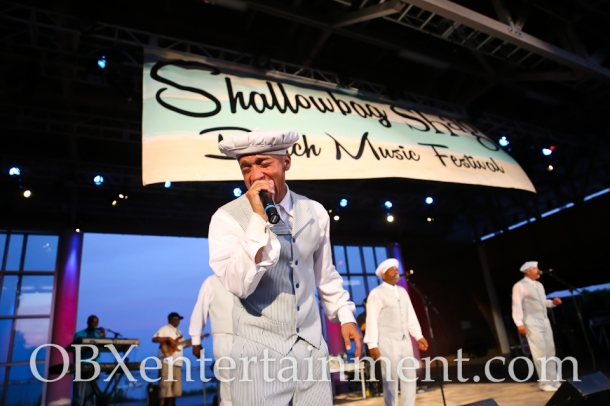 The Tams on stage at the Shallowbag Shag Outer Banks Beach Music Festival on May 26, 2014. (photo by OBXentertainment.com)