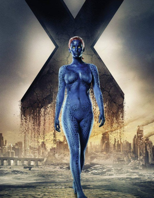 X-Men Days of Future Past - Jennifer Lawrence is Mystique