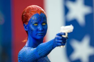 Jennifer Lawrence is Mystique in 'X-Men: Days of Future Past'.