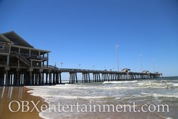 Jennette's Pier in Nags Head, NC (photo by OBXentertainment.com)