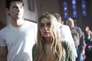Alexa Vega stars in 'The Remaining', filmed in Wilmington, North Carolina.