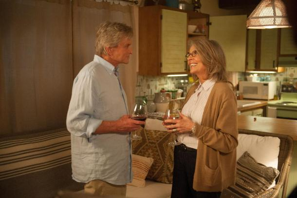 Michael Douglas and Diane Keaton star in 'And So It Goes'.