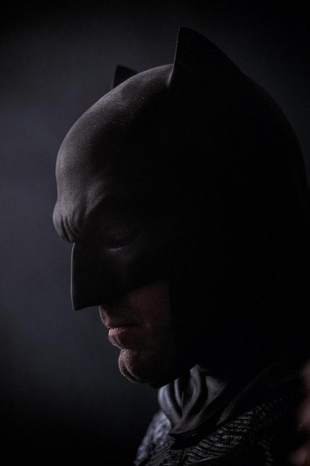 First look at Ben Affleck as Batman in 'Batman v Superman - Dawn of Justice'