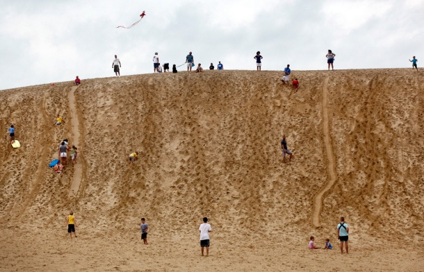 CNN Jockey's Ridge, Nags Head, North Carolina (photo by The Virginian Pilot)