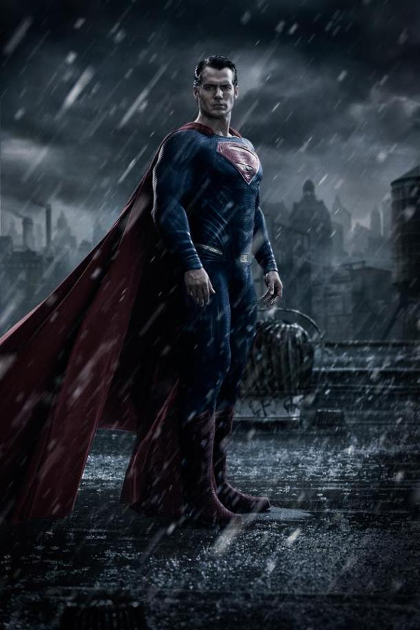 First look at Henry Cavill as Superman in 'Batman v Superman - Dawn of Justice'