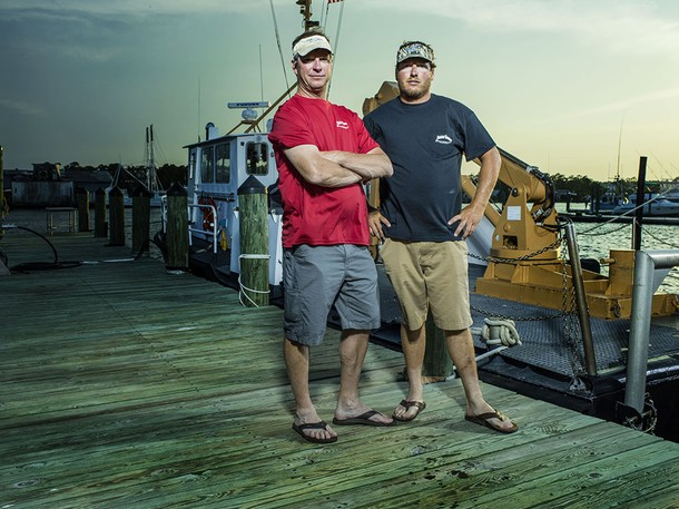 The crew of Fishin' Frenzy will be featured on 'Wicked Tuna: North vs. South', filmed on the Outer Banks, North Carolina.