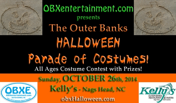 Outer Banks Halloween Parade of Costumes - October 26, 2014 at Kelly's, Nags Head, North Carolina