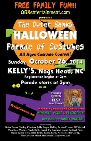 OUTER BANKS HALLOWEEN PARADE OF COSTUMES COMES TO NAGS HEAD!