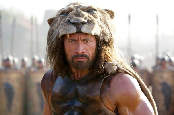 "Dwayne ""The Rock"" Johnson is 'Hercules'."