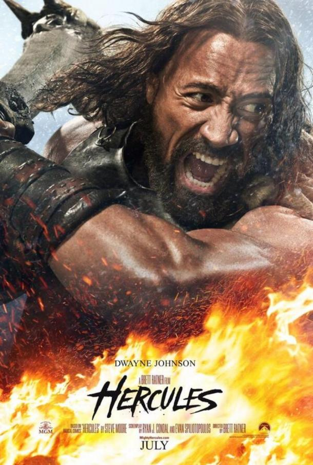 'Hercules' movie poster
