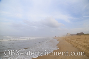 The calm before Hurricane Arthur on the Outer Banks in Kill Devil Hills, NC at 7pm on July 3, 2014. (photo: OBXentertainment.com)
