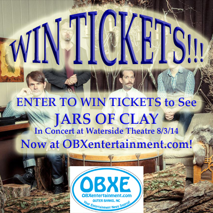 Win tickets to see Jars of Clay in concert at OBXentertainment.com!