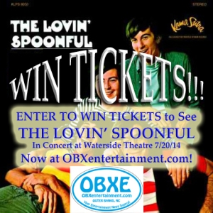 The Lovin' Spoonful concert ticket giveaway from OBXentertainment.com