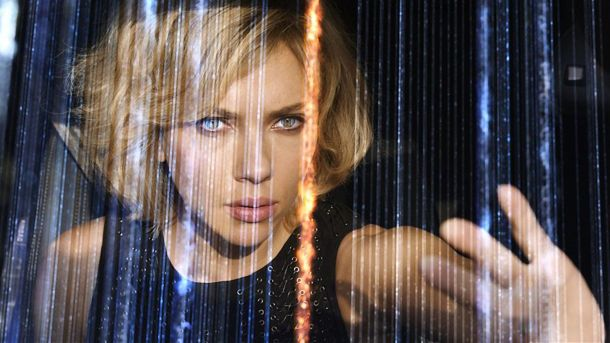 Scarlett Johansson is 'Lucy'.