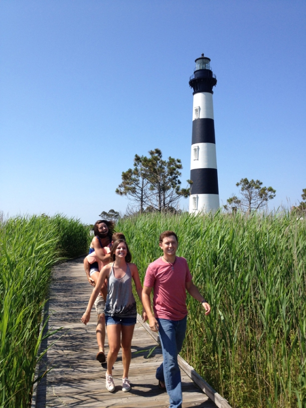 "Scotty McCreery filmed the music video for ""Feelin' It"" on the Outer Banks, North Carolina."