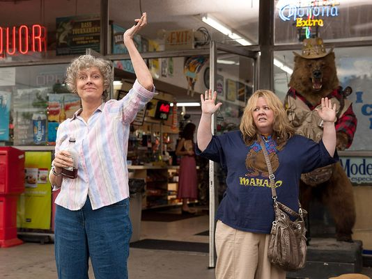 Susan Sarandon and Melissa McCarthy hit the road in 'Tammy', filmed in Wilmington, North Carolina.