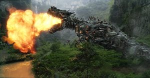Grimlock roars to life in 'Transformers: Age of Extinction'.