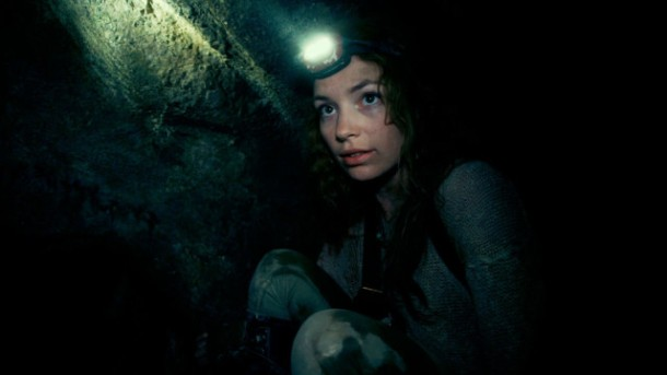 Fear awaits underground in 'As Above So Below'.