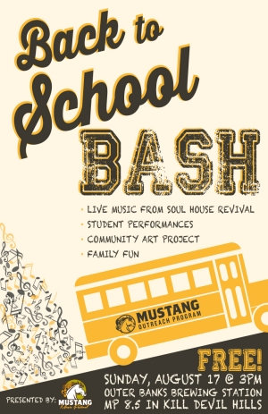 Mustang Music Outreach Back to School Bash - August 17, 2014