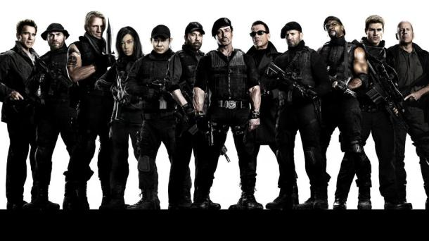 All your favorite action stars are in 'The Expendables 3'.