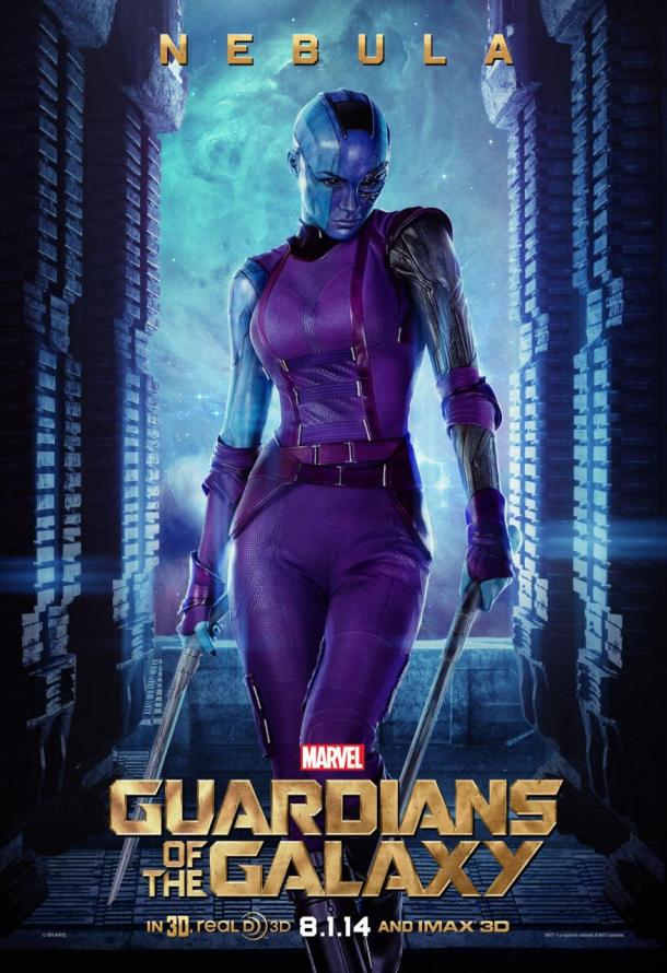 Guardians of the Galaxy - Nebula poster