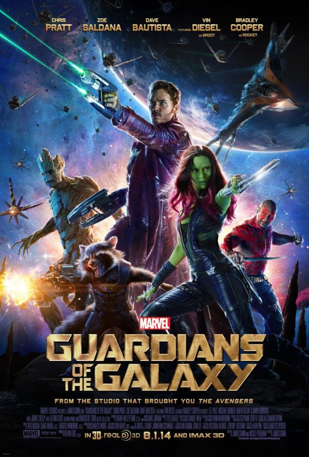 'Guardians of the Galaxy' movie poster