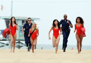 'Let's Be Cops' hits the beach.