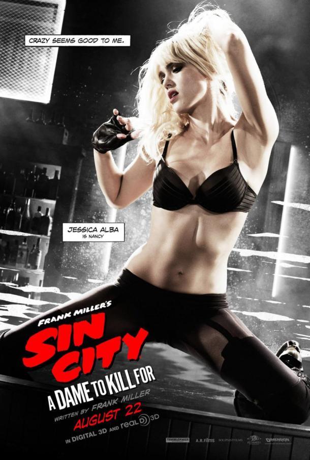 Sin City: A Dame to Kill For - Jessica Alba poster