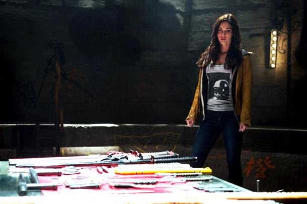 Megan Fox is April O'Neil in 'Teenage Mutant Ninja Turtles'.