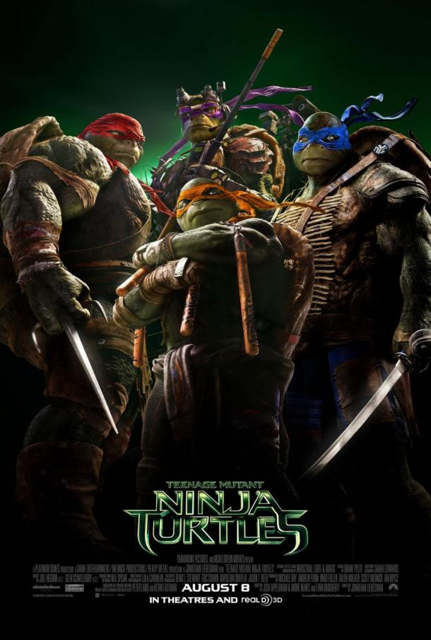 Teenage Mutant Ninja Turtles movie poster