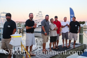 The stars of the Nat Geo series 'Wicked Tuna- North vs. South' on August 14, 2014. (photo by OBXentertainment.com)
