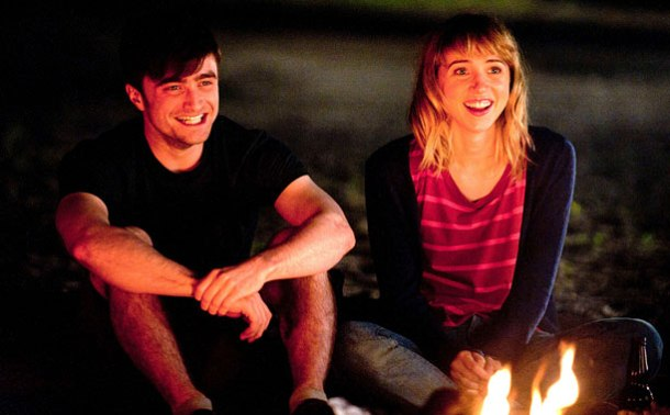 Daniel Radcliffe and Zoe Kazan find romance in 'What If'.