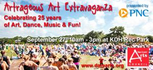 Artrageous - September 27, 2014 at the Dare County Recreation Center in Kill Devil Hills