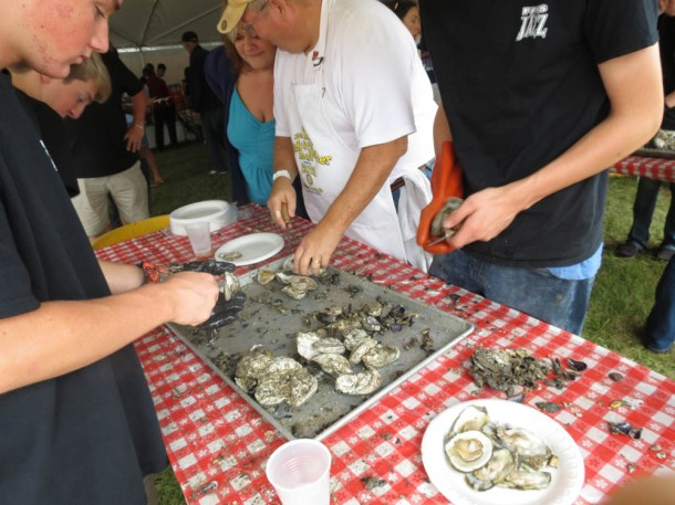 The First Flight Rotary Oink N' Oyster Roast fundraiser returns to Longboards in Kitty Hawk on October 11, 2014.