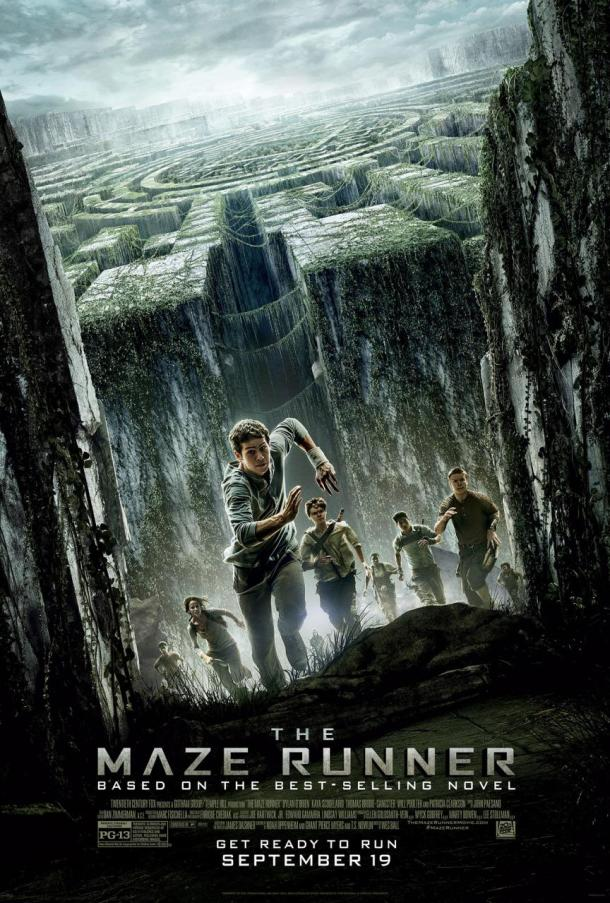 'The Maze Runner' movie poster