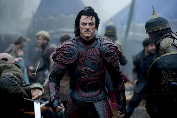 Luke Evans is Vlad The Impaler in 'Dracula Untold'.