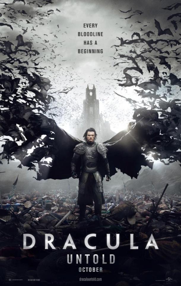 'Dracula Untold' movie poster